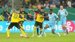 KFC liefert großen Kampf gegen Dortmund