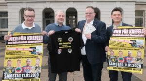 Vier für Krefeld – Hallenturnier zugunsten des Zoos