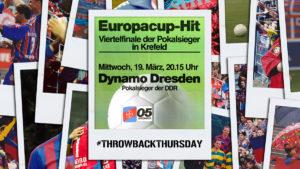 #TBT: Das Jahrhundertspiel gegen Dresden