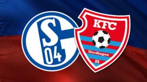 Testspiel gegen Schalke 04 am 18. August