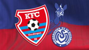 Was den KFC gegen den MSV Duisburg erwartet