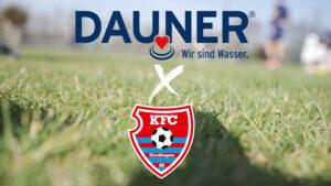 DAUNER ist neuer Getränkepartner des KFC Uerdingen