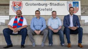 Neuer Vorstand des KFC Uerdingen stellt sich vor