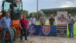KFC-Vorstand trifft Grotenburg-Supporters
