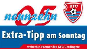 EXTRA-TIPP am Sonntag steht weiter an der Seite des KFC