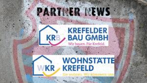Wohnstätte Krefeld und Krefelder Bau bleiben Partner des KFC